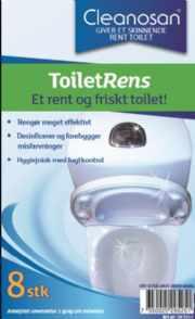 salg af Cleanosan ToiletRens 8 stk.