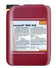 salg af Leracid RSC 215 - mild syreholdig skumrengøringsmiddel