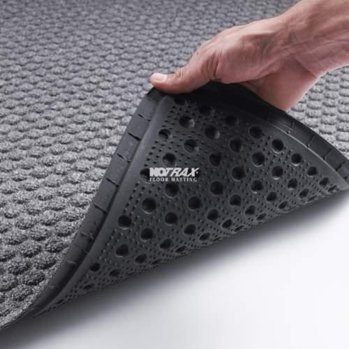 Cool Notrax måtte, Aqua Trap koksgrå 60 x 90 cm. - Indendørs måtter KO68