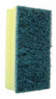 salg af Skuresvamp grøn 7x15 cm. 10 stk.