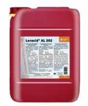salg af Leracid AL 202  24 kg Sur skumsæbe også aluminium UN 3264, 8, II